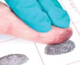 Интеллектуальное снятие отпечатков пальцев