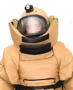 Защитный костюм взрывотехника